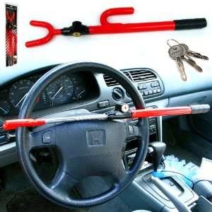 NEW Anti Theft Steering Wheel Lock   No Stolen Cars
