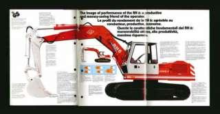 RH6 Hydraulic Excavator Loader Sales Brochure 1983