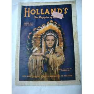 Hollands Magazine March 1941 Texas Farm and Ranch Publishing
