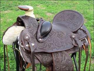Crates Custom Wade Roping Saddle