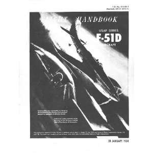 Aviation F 51 D Aircraft Flight Manual Sicuro Publishing Books