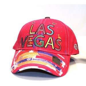 City Hunter Ct1110 Bling Night Las Vegas Cap  Fuchsia: Everything Else