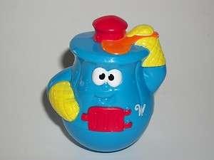 Playskool Weebles Blue Pot Belly Stove Figure