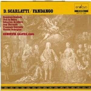 Domenico Scarlatti, Jose de Nebra, Sebastian de Albero, Jose Herrando