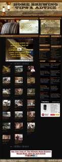 ESTABLISHED BEER BREWING ADVICE, STORE & VIDEO WEBSITE