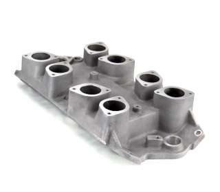 Aluminum Big Block Chevy Oval Port Weber IDF 8 Stack Intake #NG1676