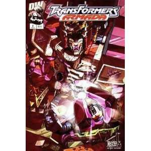 Transformers: Armada, Edition# 2: Dreamwave: Books