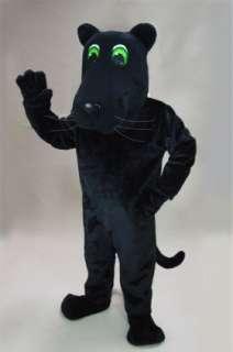 Cartoon Panther Mascot Costume Clothing