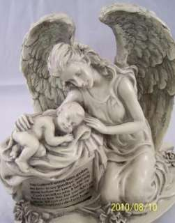 Angel Baby Memorial Statue Pregnancy Childloss Figurine 780090804527