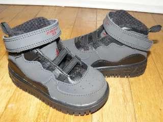 ADORABLE Nike Air Jordan X 10 Baby boy toddler shoes sz 5c BLACK EUC