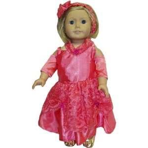 American Girl Doll Coral Princess Dress Toys & Games