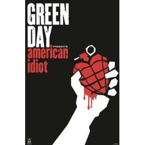 GREEN DAY AMERICAN IDIOT WALL POSTER