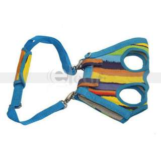 NEW Rainbow Multipurpose Strap Pet Dog Harness Travel Carrier Tote Bag