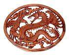 DRAGON WARRIOR~Hand carved Wood Wall Panel~Thailand~ART