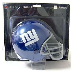 New York Giants Helmet Bank Feature Official Team Logos