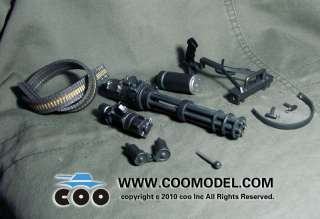 COOMODEL x80012 M134 type rapid fire machine guns