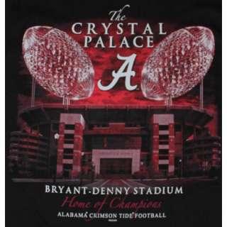 Alabama Crimson Tide Football T Shirts   The Crystal Palace Bryant