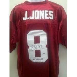 Julio Jones Autographed Jersey   Alabama 09 Champs PSA DNA