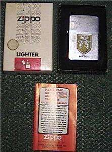 3rd SECURITY POLICE SQUADRON BIEN HOA VIET NAM ZIPPO LIGHTER +BOX VG
