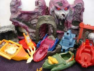 VEHICLES FOR PARTS MOTU MASTERS UNIVERSE CASTLE GREYSKULL LOT