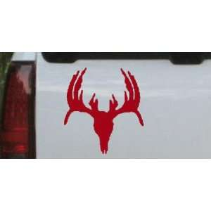 Deer Skull Mount indeginous Hunting And Fishing Car Window Wall Laptop