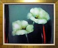 Victoria Montesinos Midnight Jazz framed SIGNED FINE ART LIMITED