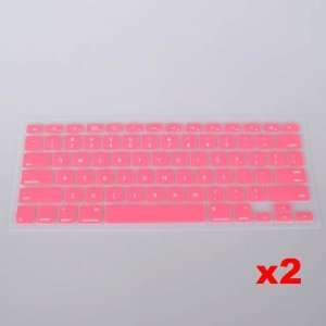 Pink Keyboard Silicone Skin Cover for Apple Macbook Pro Electronics