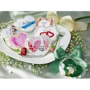 Wedding Theme Heart Shaped Mint Container