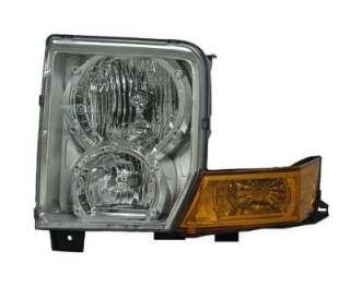 Driver Side Head Light Lens & Housing   Halogen   Jeep Commander   06
