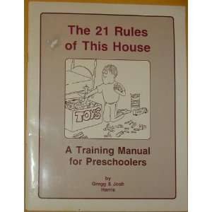 for Preschoolers (9780923463205): Gregg Harris, Josh Harris: Books