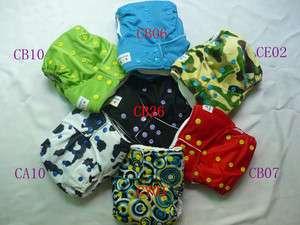 ALVA BABY reusable cloth pocket diapers one size USA seller