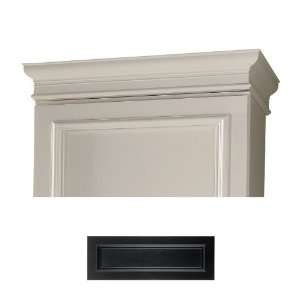 Architectural Bath Black Crown Moulding ABSC80 41: Kitchen