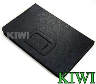 Black PU Leather Stand Cover + Stylus Touch Pen For  Kindle Fire