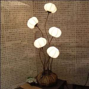 Asian Oriental Decorative Accent Home Decor Bedroom Table Floor Lamp