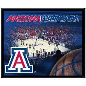 Arizona Wildcats UA NCAA Basketball 8 X 10 Framed Logo