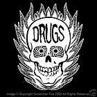 Drugs Skull Shirt ACID Head Grateful Dead Psycho Crazy