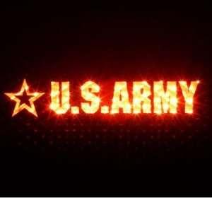 U.S. ARMY   3rd Third Brake Light Vinyl Decal Mask Kit