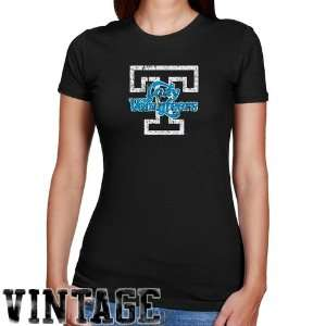 UT Vol Tee Shirt : Tennessee Lady Vols Ladies Black