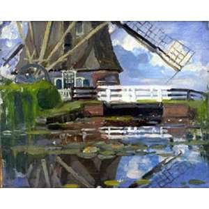 Art Reproductions and Oil Paintings Mill Oil Painting Canvas Art