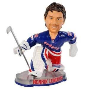 Henrik Lundqvist New York Rangers 2012 Puck Base