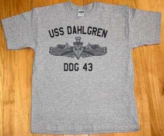 US USN Navy USS Dahlgren DDG 43 Destroyer T Shirt