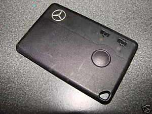 Mercedes Benz Key REMOTE SMART GO CARD   CL / SL MODELS