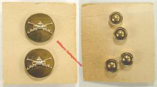 USA Occupation Era Armored Cavalry Collar Disk Insignia