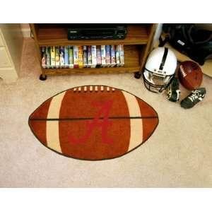 University of Alabama Alabama   Crimson A   Football Mat