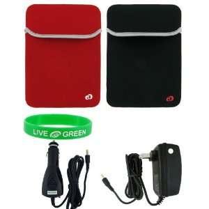 ASUS Eee PC 1000 10 Inch Netbook Logo Reversible Neorpene Sleeve Case