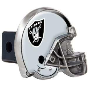 Oakland Raiders Great American Metal Helmet Trailer Hitch