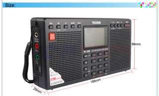 PLL FM Stereo/MW/LW/SW World Band Dual Speaker Radio Receiver