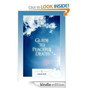 Guide to Peaceful Death Magdolna Singer  Kindle Store