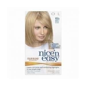 Clairol Nice N Easy Light Golden Blonde 102G Beauty