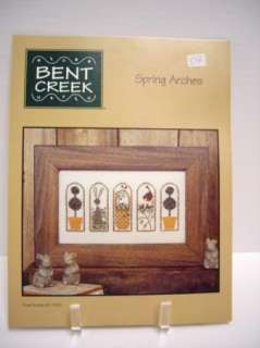 Bent Creek Cross Stitch Leaflet Spring Arches BC1069